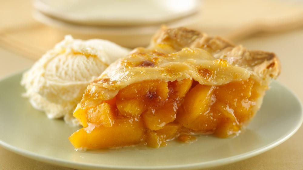 Peach Pie Recipes  Peach Pie recipe from Pillsbury