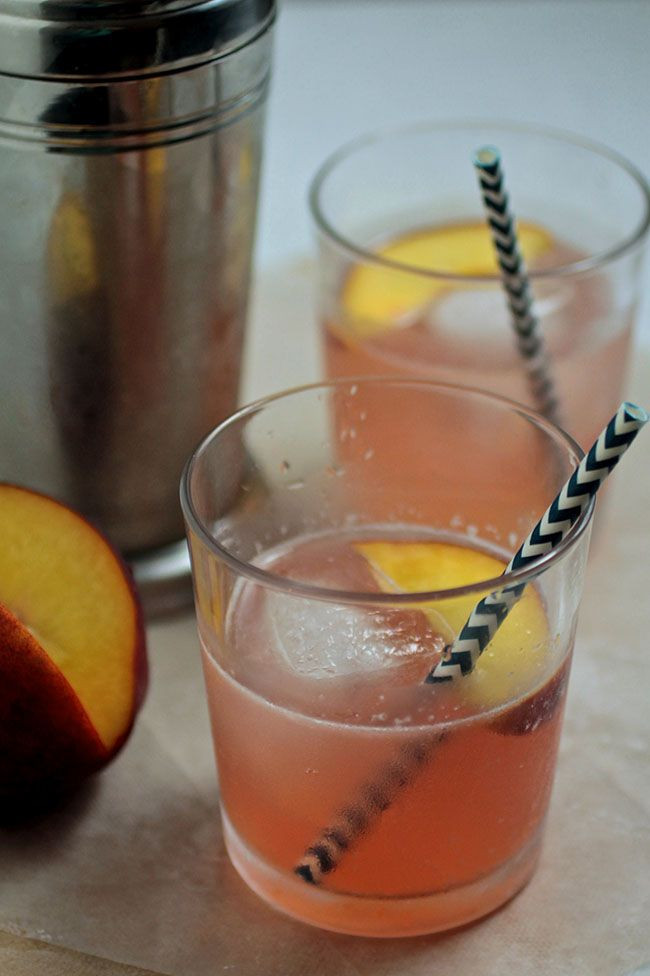 Peach Whiskey Drinks  17 Best images about Stone Fruit Cocktails on Pinterest