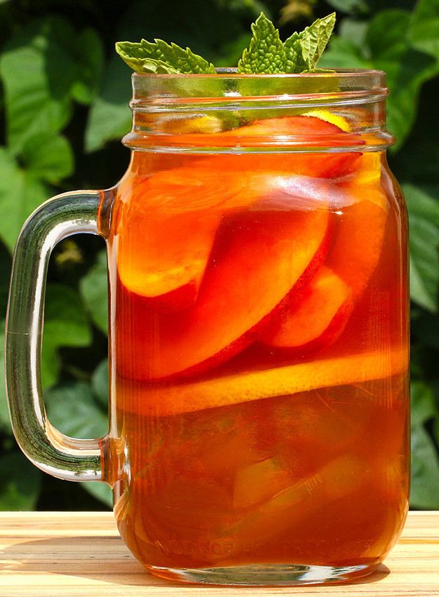 Peach Whiskey Drinks  Bottoms Up Peach Whiskey Iced Tea Will Be Your New Drink