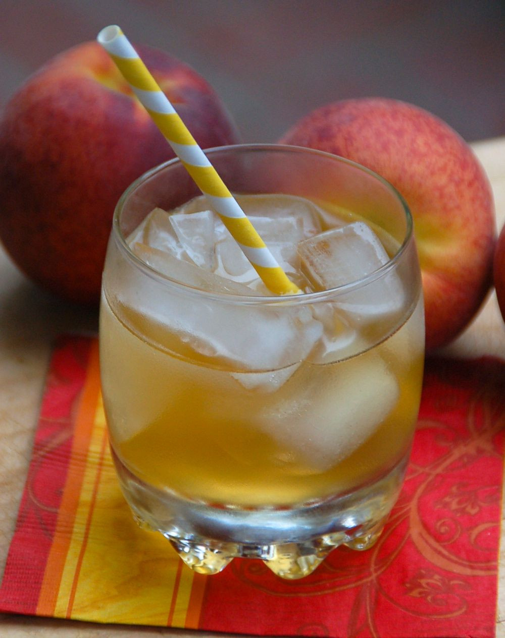 Peach Whiskey Drinks  Fuzzy Fire 1 ounce Fireball Whisky ½ peach schnapps 3