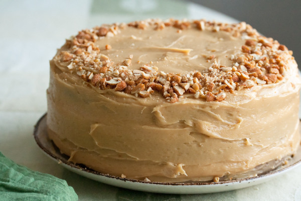 Peanut Butter Cake Recipe  Carrot Cake with Peanut Butter Cream Cheese Icing