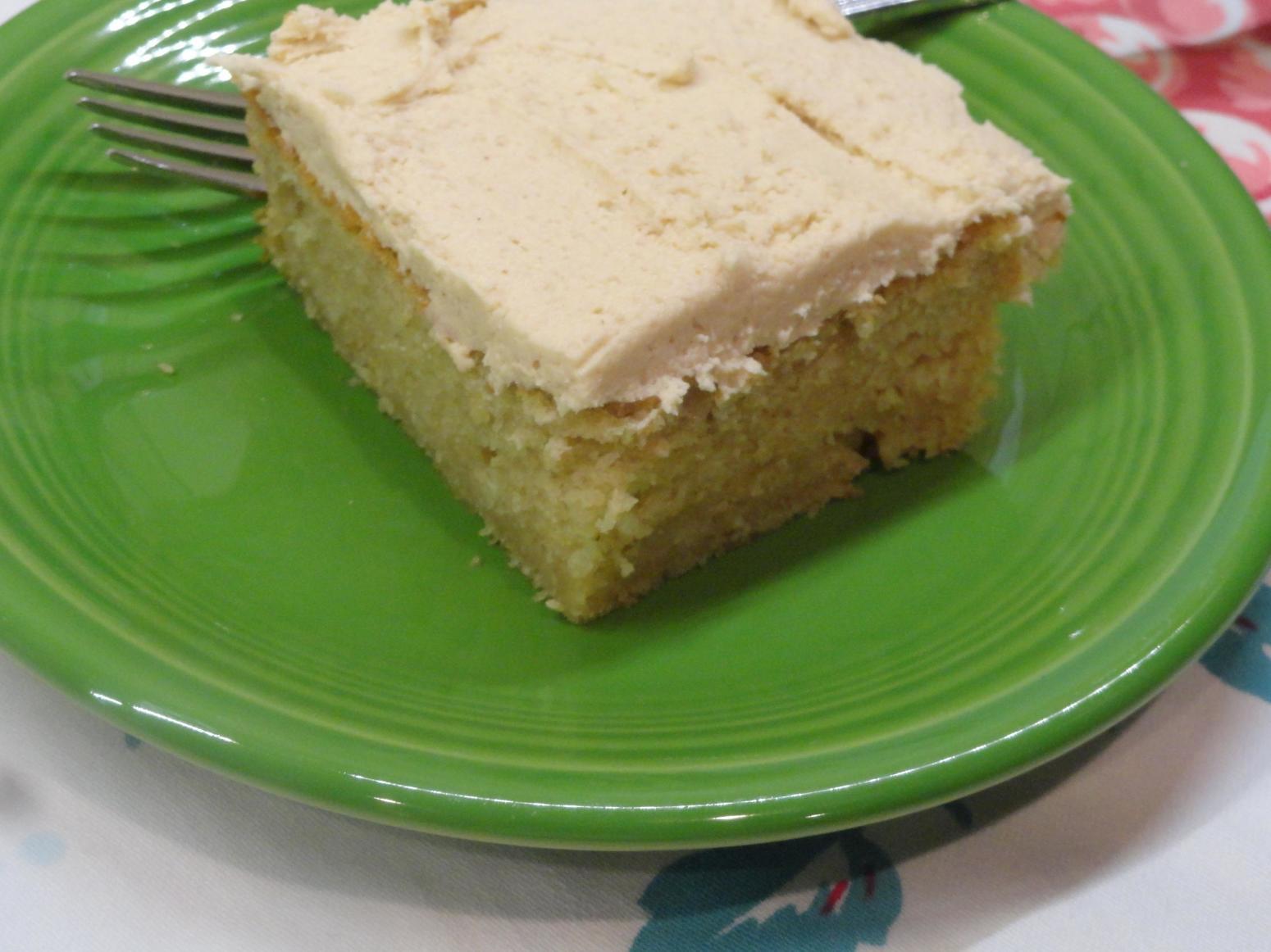 Peanut Butter Cake Recipe  Easy Peanut Butter Cake & Peanut Butter Frosting Recipe