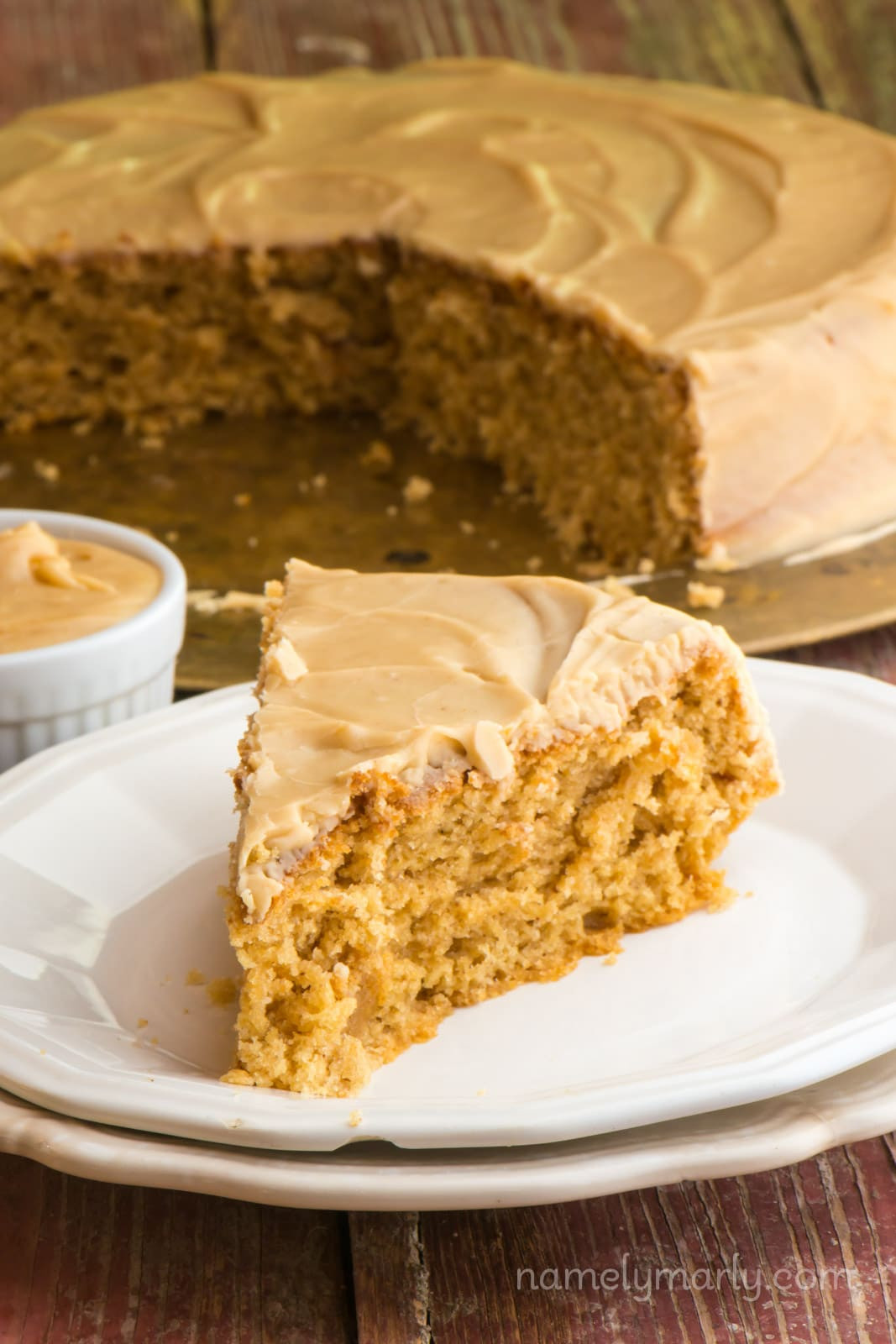 Peanut Butter Cake Recipe  Vegan Peanut Butter Wacky Cake Namely Marly