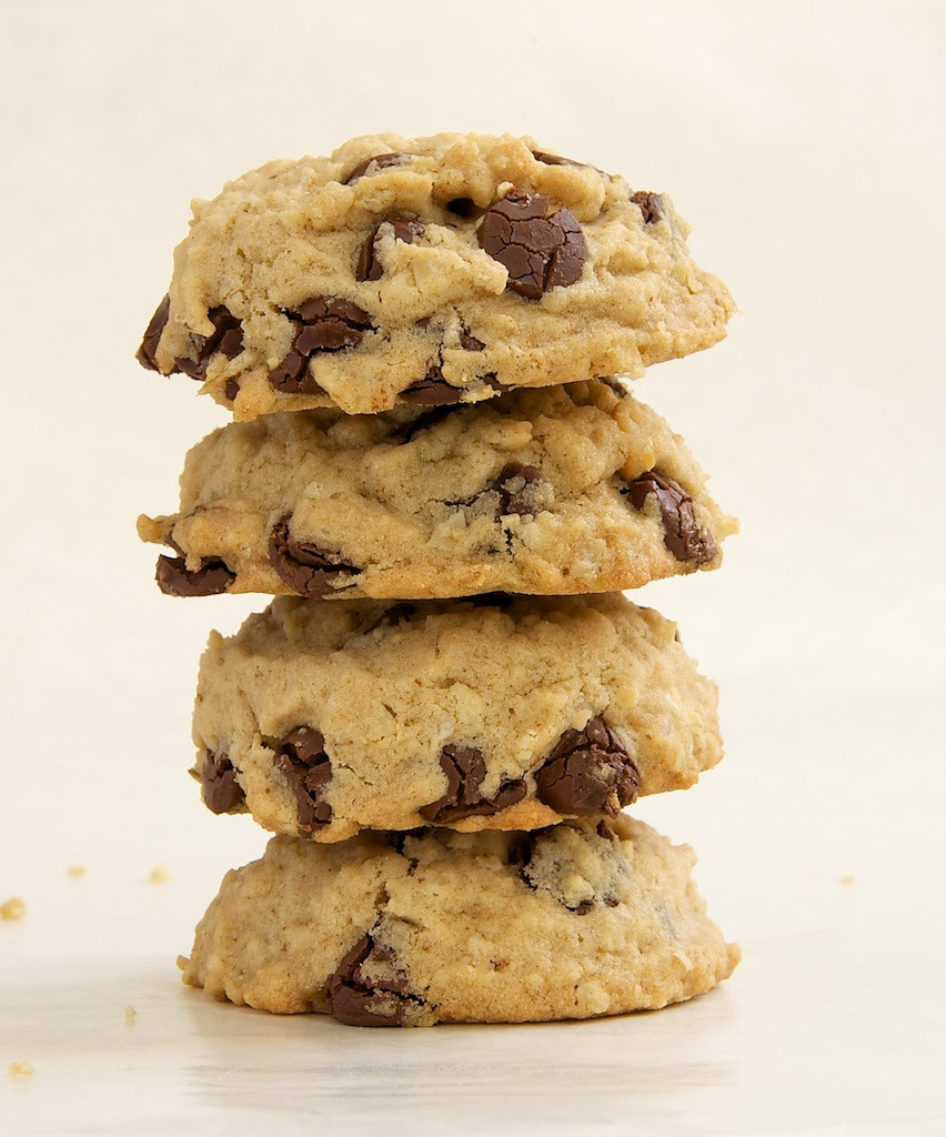Peanut Butter Chocolate Chip Oatmeal Cookies  Oatmeal Peanut Butter Chocolate Chip Cookies