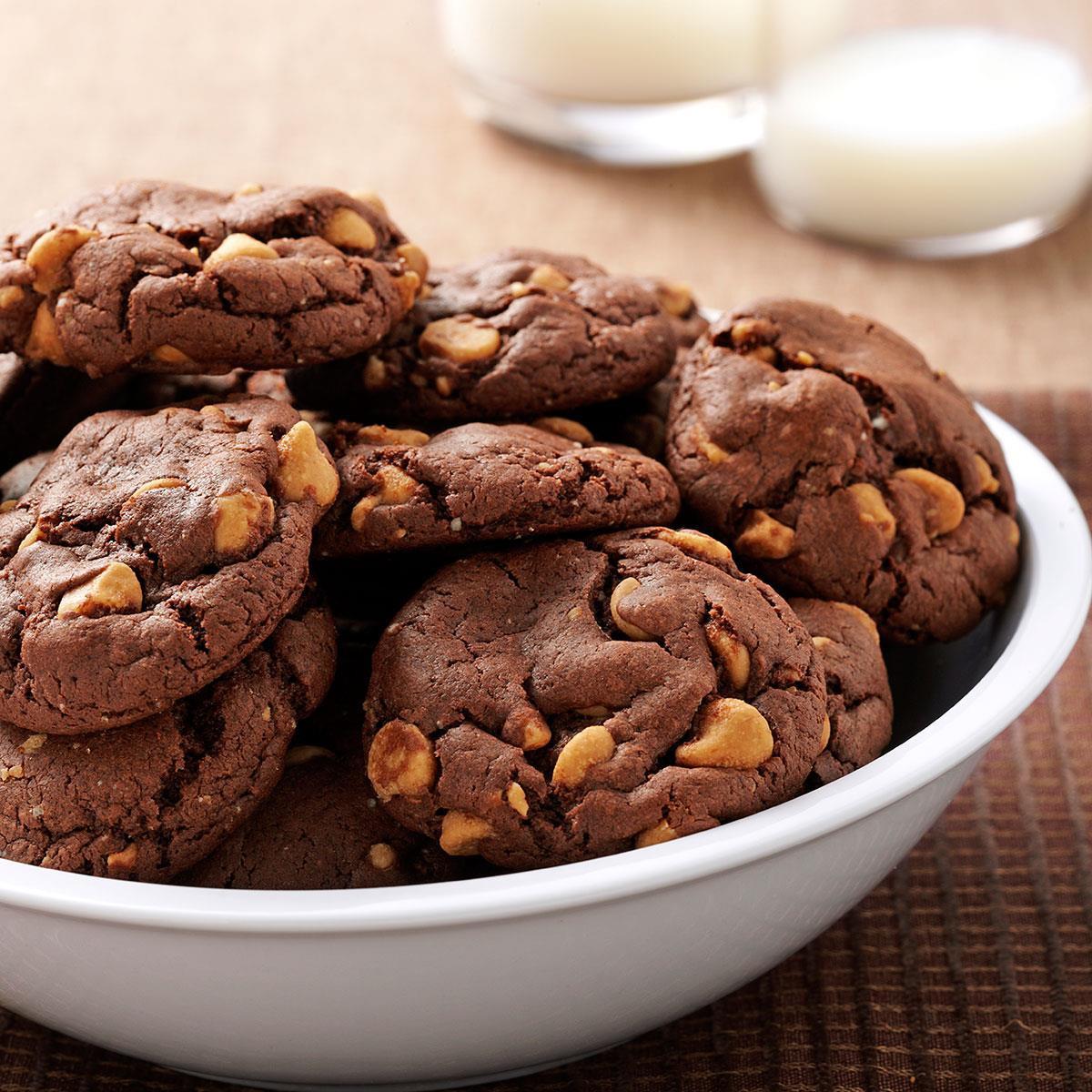 Peanut Butter Chocolate Cookies  Chocolate Peanut Butter Chip Cookies Recipe