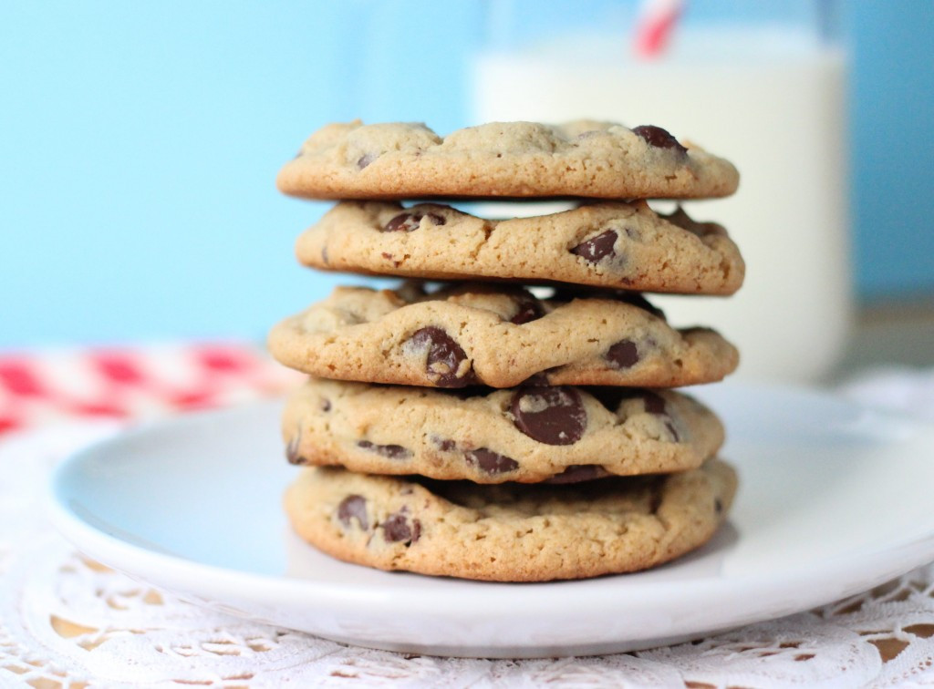 Peanut Butter Chocolate Cookies  Peanut Butter Chocolate Chip Cookies Your Cup of Cake