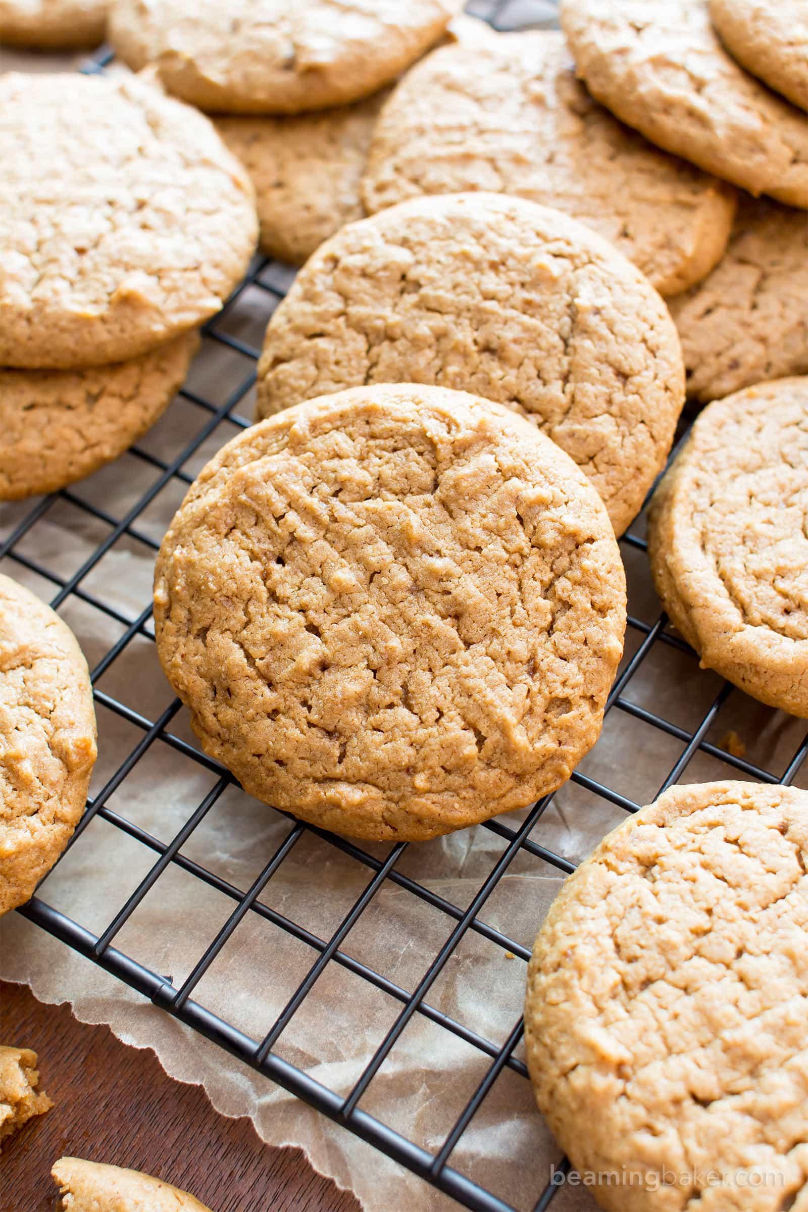 Peanut Butter Cookies Easy  easy gluten free peanut butter cookies