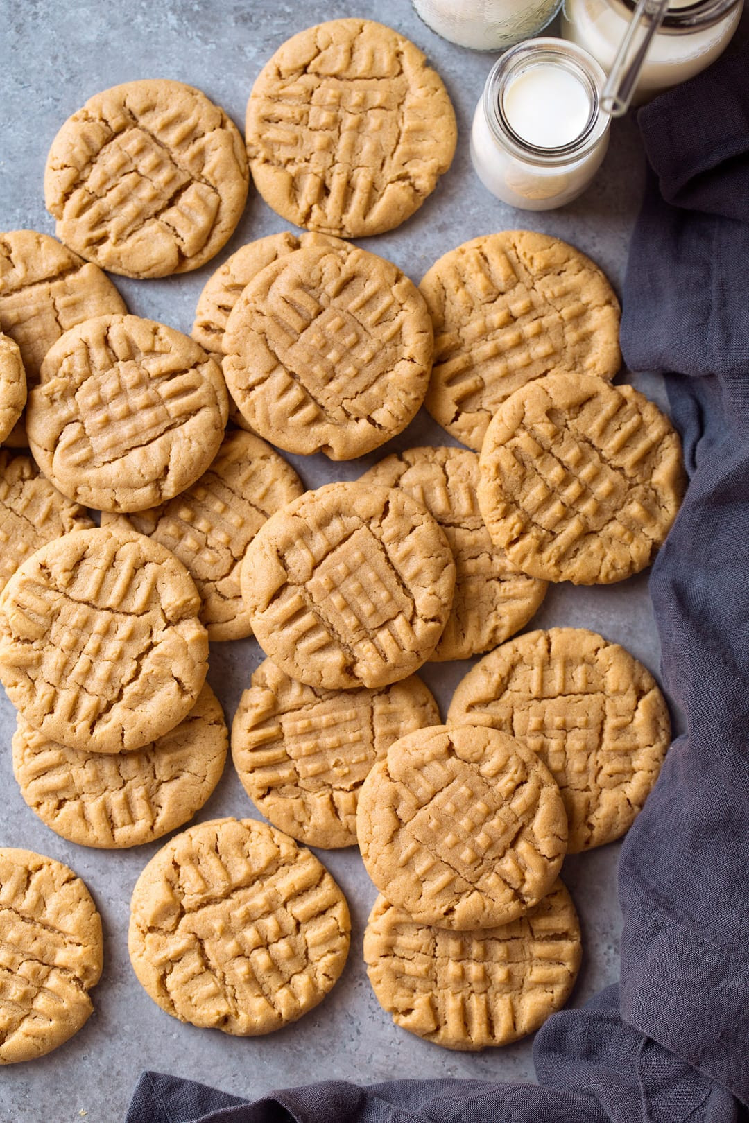 Peanut Butter Cookies Easy  Peanut Butter Cookies Best Easy Recipe With Video