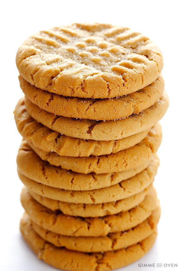 Peanut Butter Cookies Easy  Peanut Butter Cookies