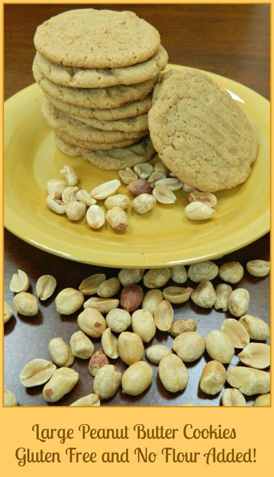 Peanut Butter Cookies No Flour  Fabulous Gluten Free No Flour Peanut Butter Cookies