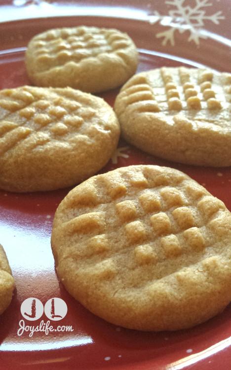 Peanut Butter Cookies No Flour  3 Ingre nt No Flour Peanut Butter Cookies Recipe