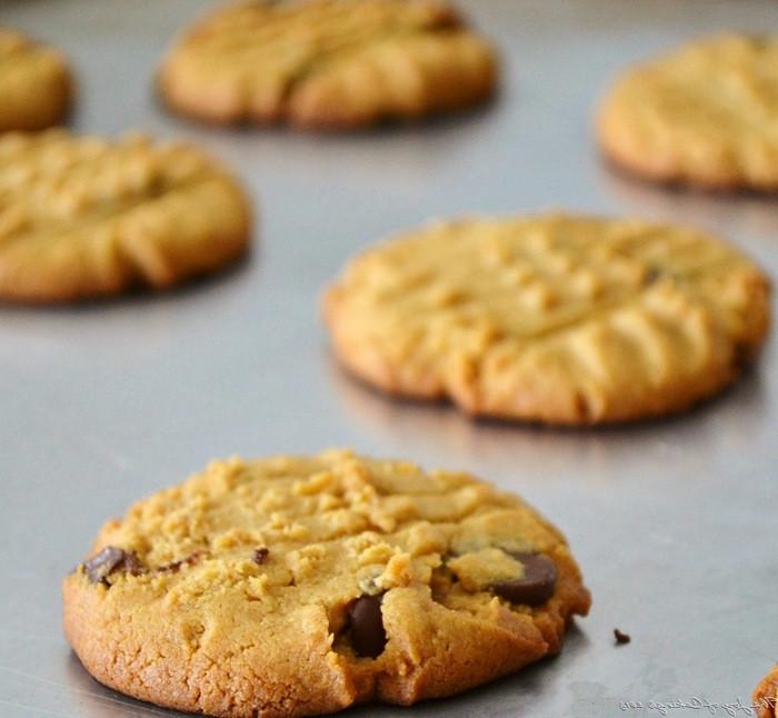 Peanut Butter Cookies No Flour  Chocolate Peanut Butter Cookies No Flour