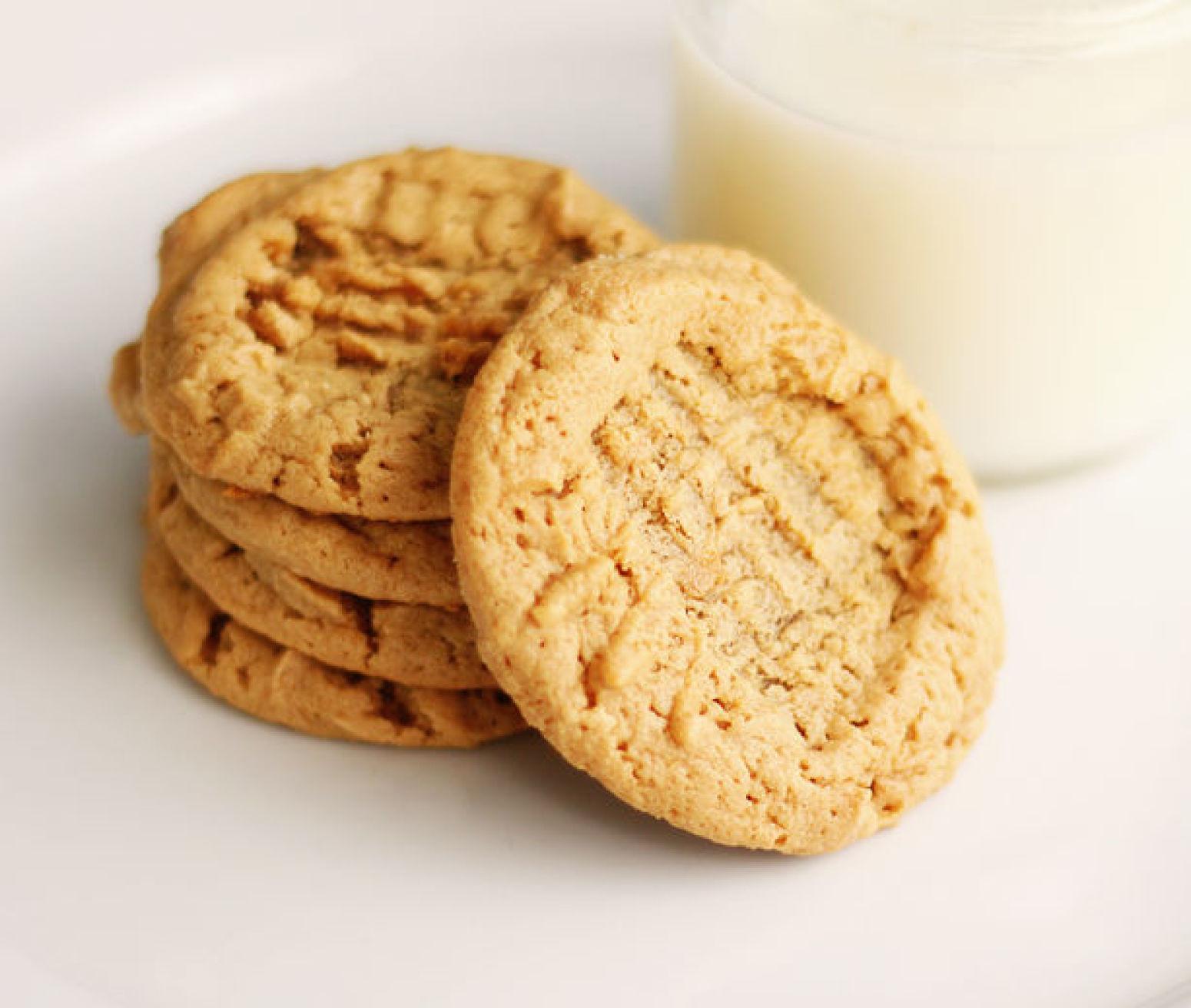 Peanut Butter Cookies No Flour  Peanut Butter cookies no sugar no flour added Recipe