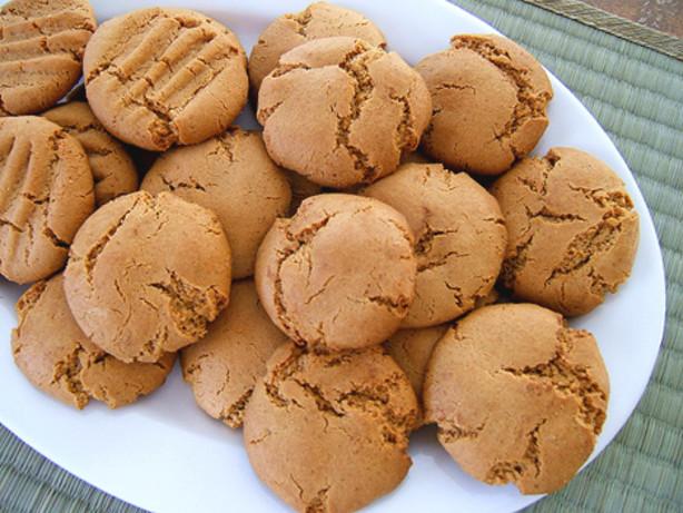 Peanut Butter Cookies No Flour  No Flour Peanut Butter Cookies Recipe Baking Food