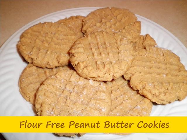 Peanut Butter Cookies No Flour  Ready Set Create No Flour Peanut Butter Cookies