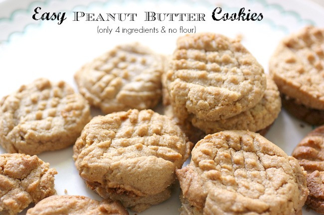 Peanut Butter Cookies No Flour  Rapid weight loss meal plans low carb peanut butter