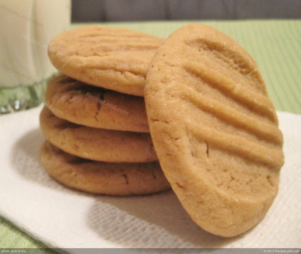 Peanut Butter Cookies Recipes  Best Ever Chewy Peanut Butter Cookies Recipe