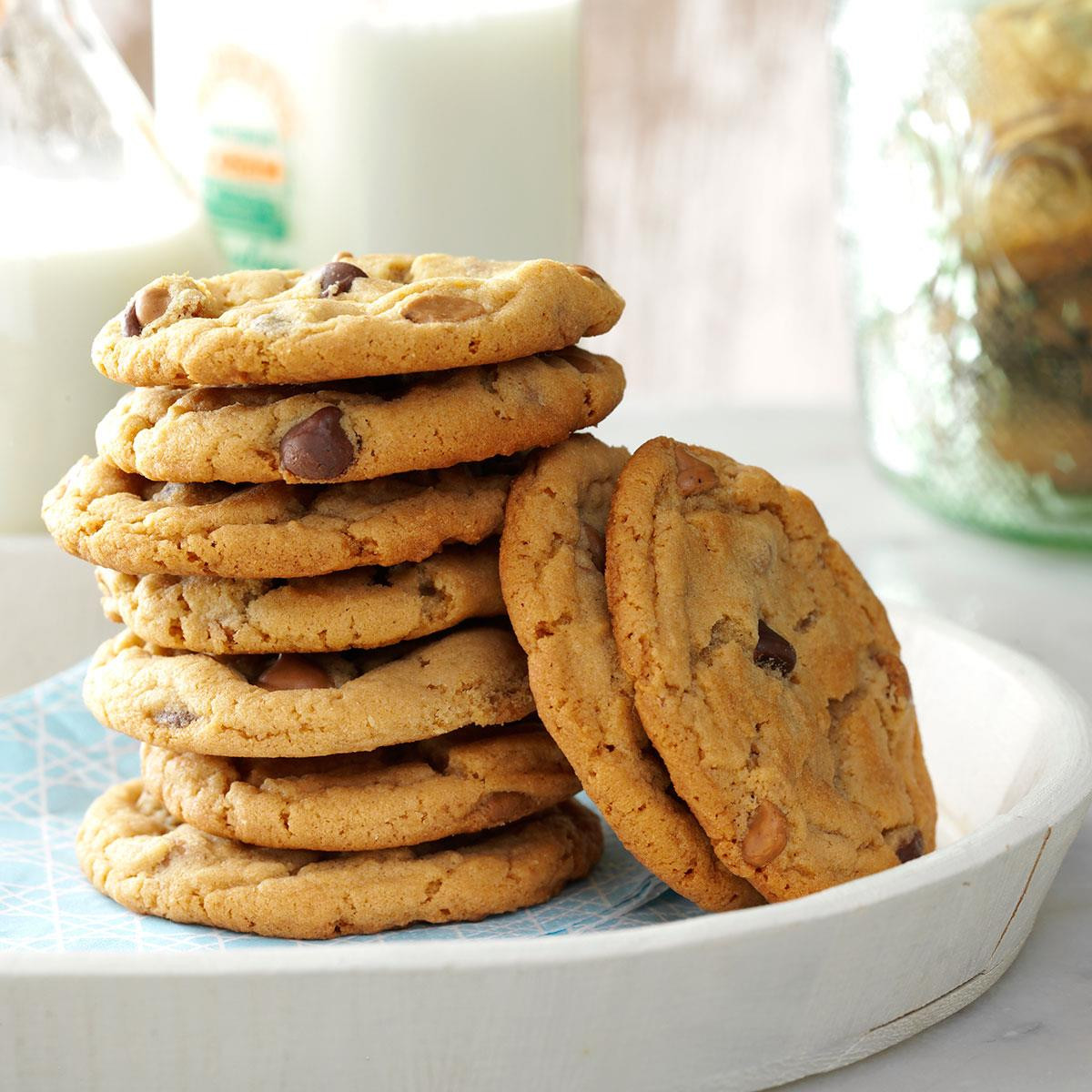 Peanut Butter Cookies Recipes  Chippy Peanut Butter Cookies Recipe