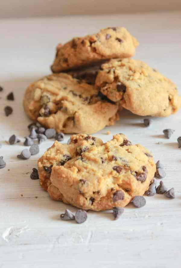 Peanut Butter Cookies With Chocolate Chips  Thick Peanut Butter Chocolate Chip Cookies
