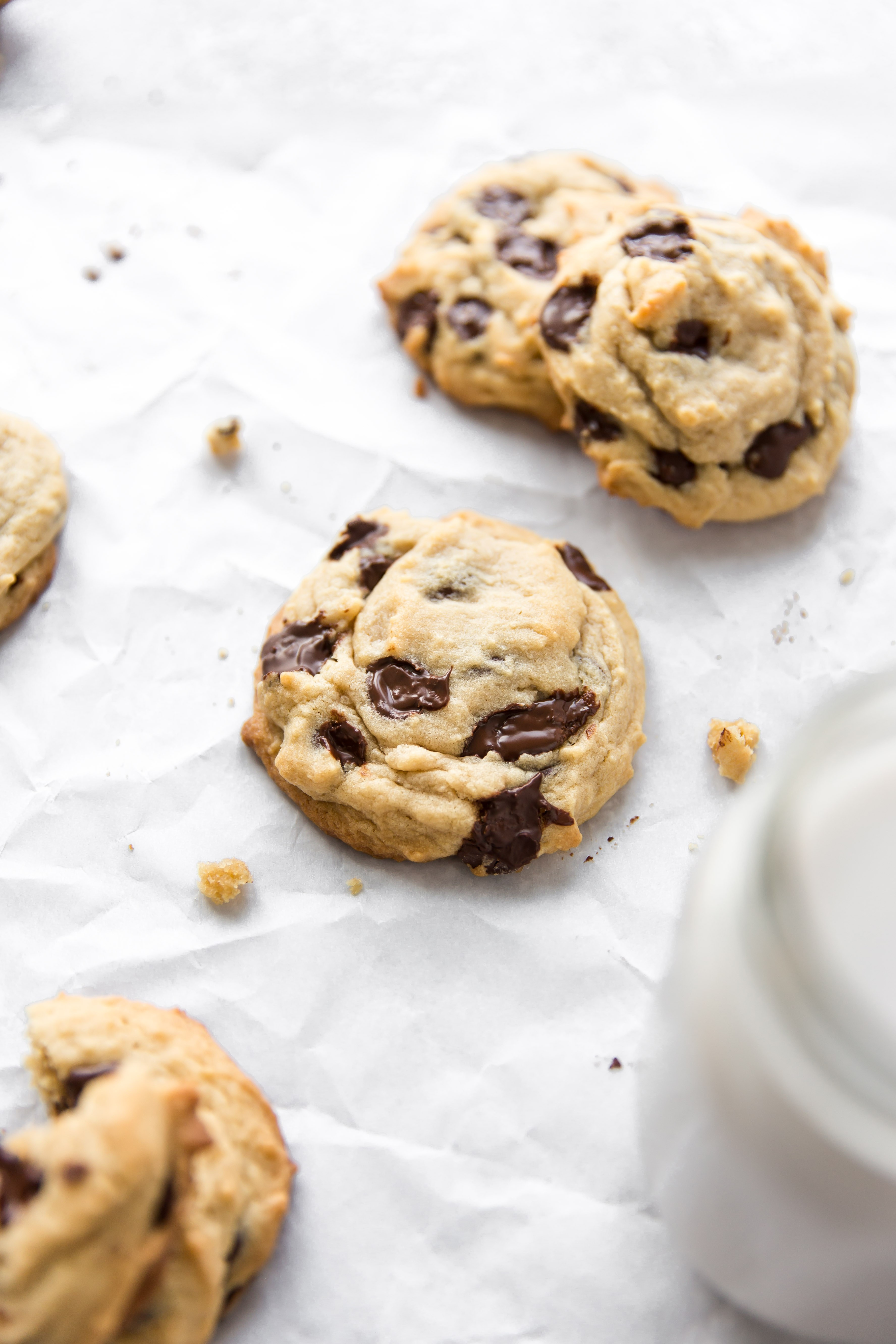 Peanut Butter Cookies With Chocolate Chips  Peanut Butter Chocolate Chip Cookies KJ and pany