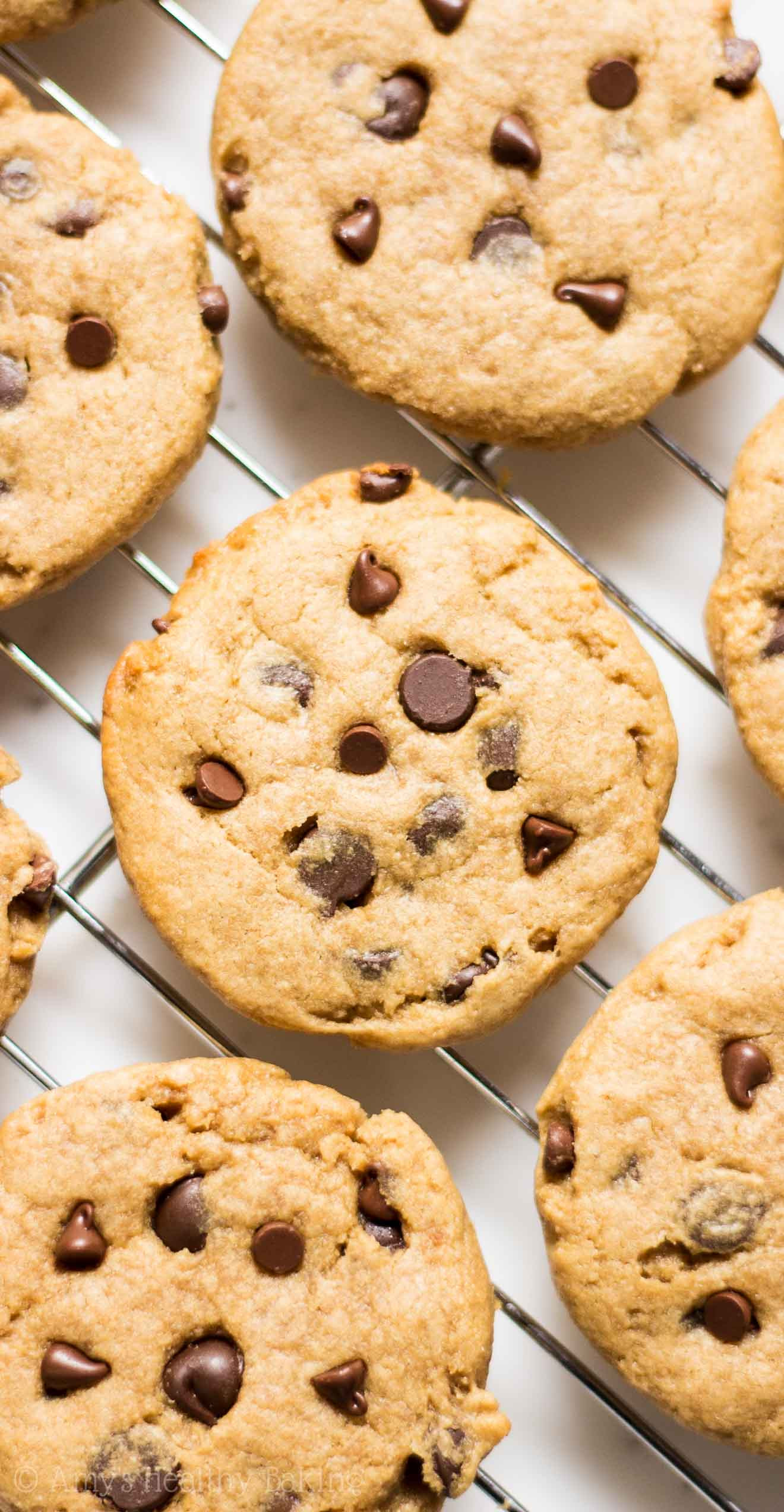 Peanut Butter Cookies With Chocolate Chips  Chocolate Chip Peanut Butter Banana Cookies