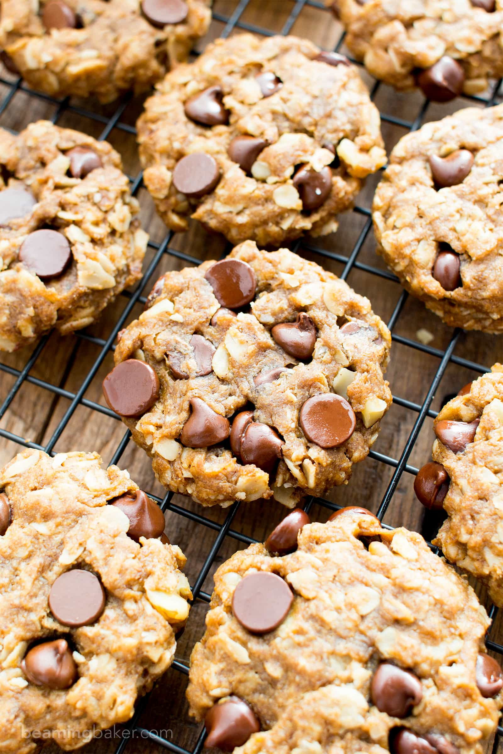Peanut Butter Cookies With Chocolate Chips  Easy Gluten Free Peanut Butter Chocolate Chip Oatmeal