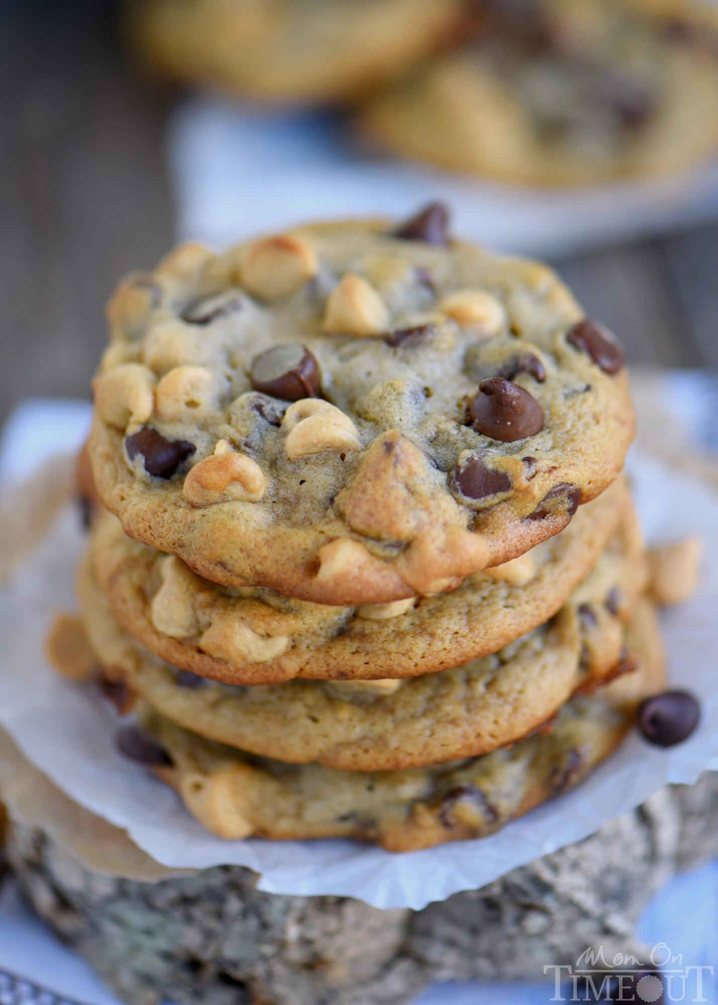 Peanut Butter Cookies With Chocolate Chips  Peanut Butter Banana Chocolate Chip Cookies Mom Timeout