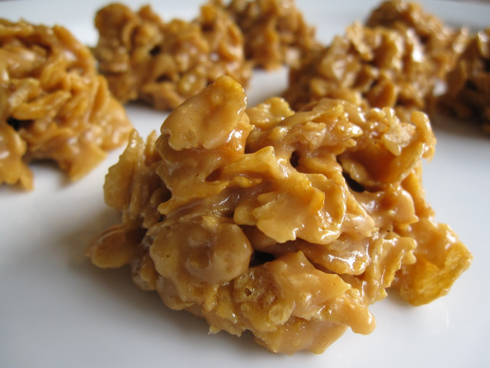 Peanut Butter Cornflake Cookies  Fanksgiving Cornflake Cookies