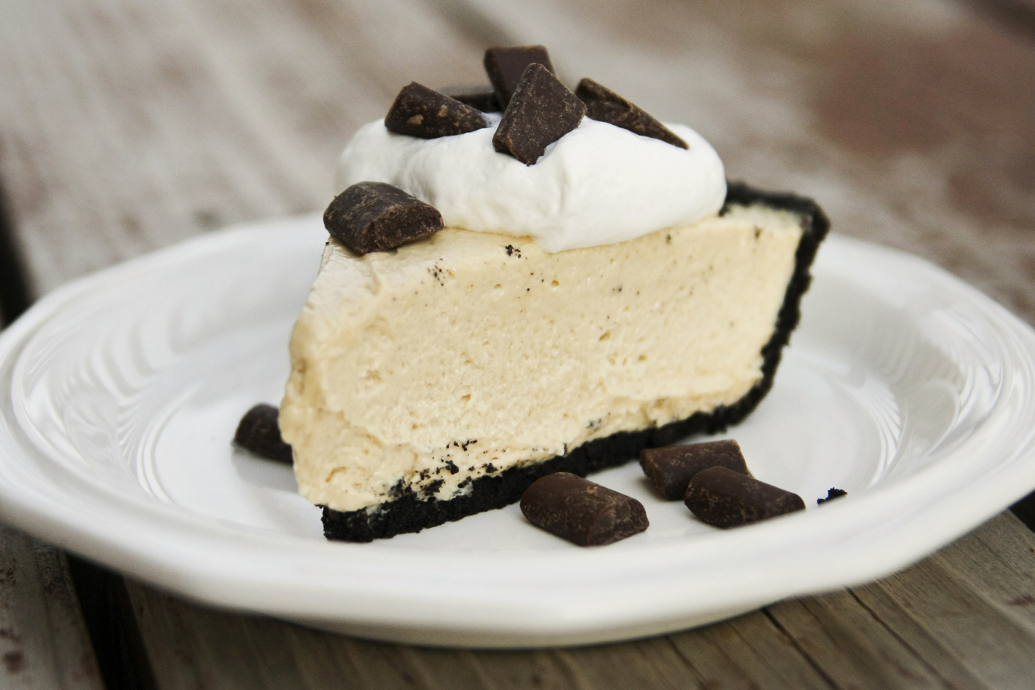 Peanut Butter Pie With Oreo Crust  Easy No Bake Peanut Butter Pie with Oreo Crust An Alli Event
