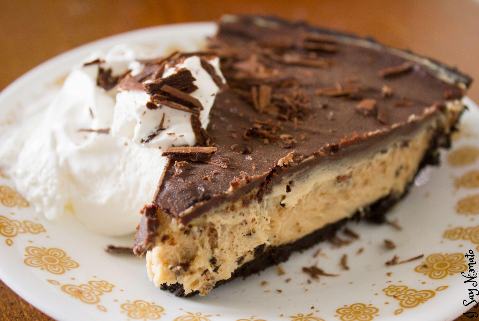 Peanut Butter Pie Without Cream Cheese  Peanut Butter Pie with Sea Salt and Dark Chocolate Ganache
