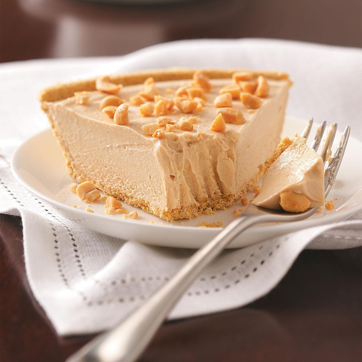 Peanut Butter Silk Pie  Peanut Butter Silk Pie Recipe