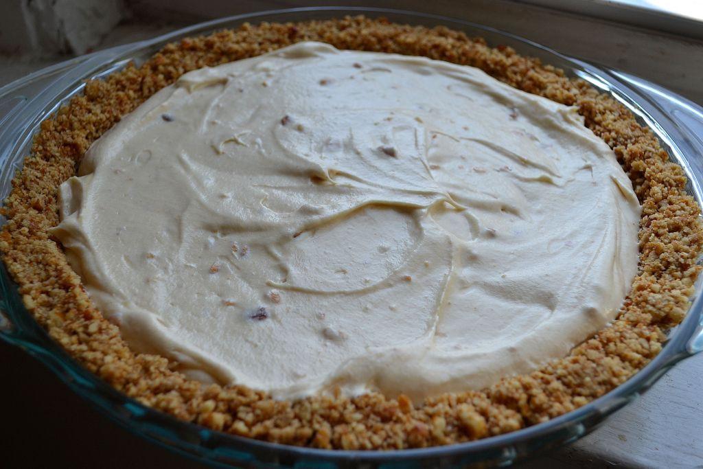 Peanut Butter Silk Pie  Peanut Butter Silk Pie with Pretzel Crust