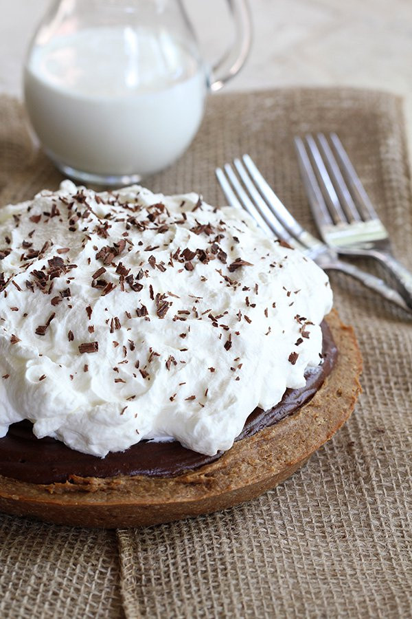 Peanut Butter Silk Pie  Peanut Butter & Chocolate French Silk Pie