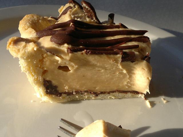 Peanut Butter Silk Pie  Peanut Butter Silk Pie Yummy Acme Cafe pie reco