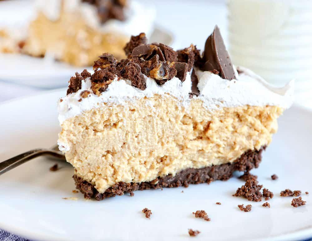 Peanut Butter Silk Pie  Peanut Butter Pie