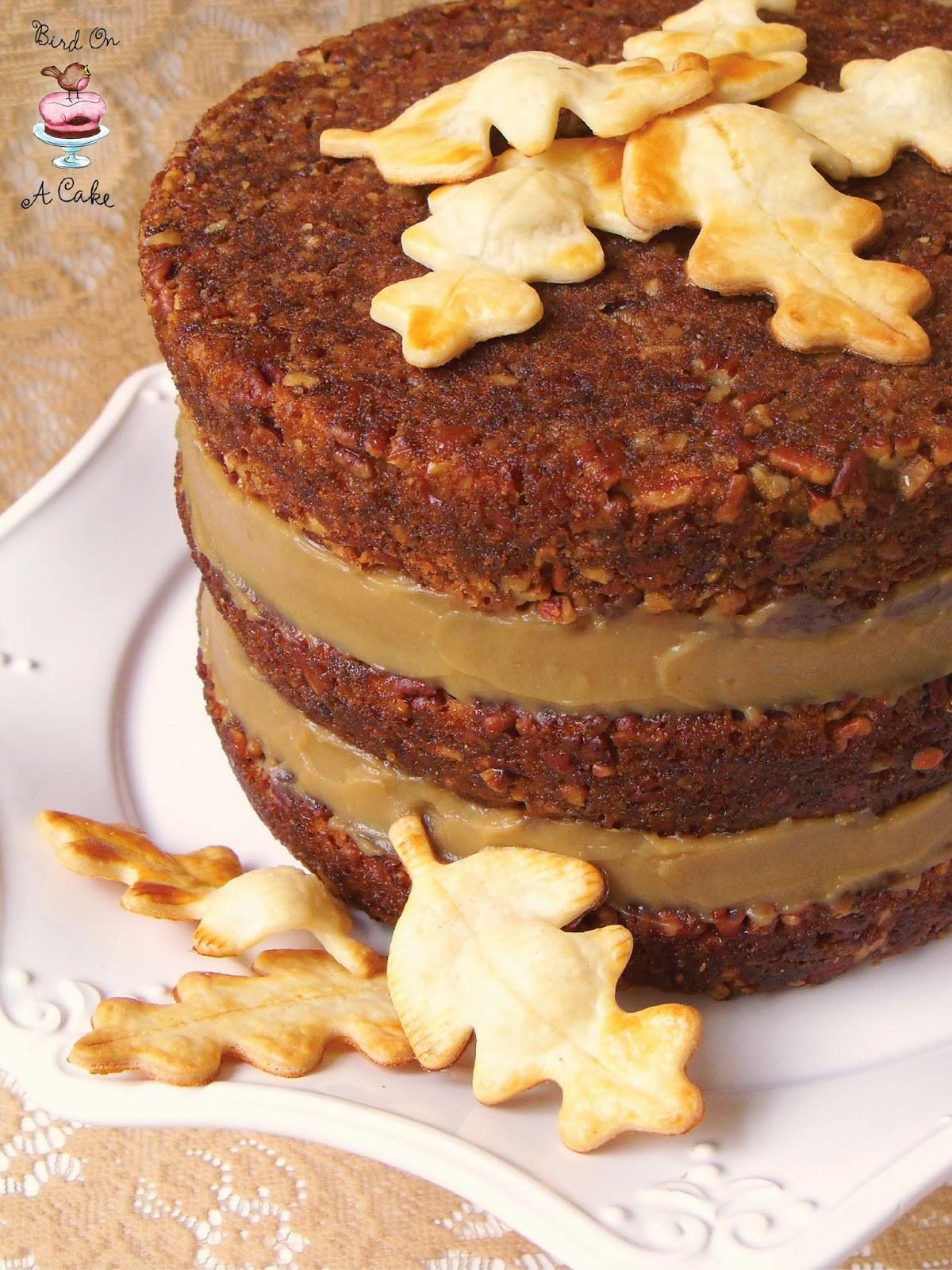 Pecan Pie Cake  Bird A Cake Pecan Pie Cake