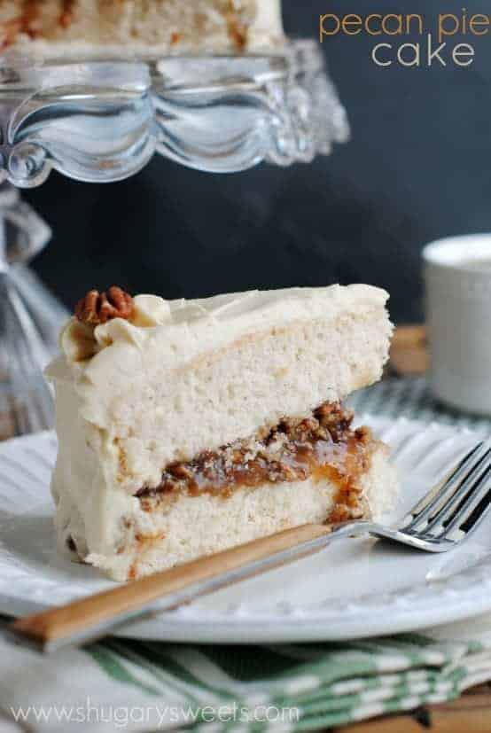 Pecan Pie Cake  Pecan Pie Cake Shugary Sweets