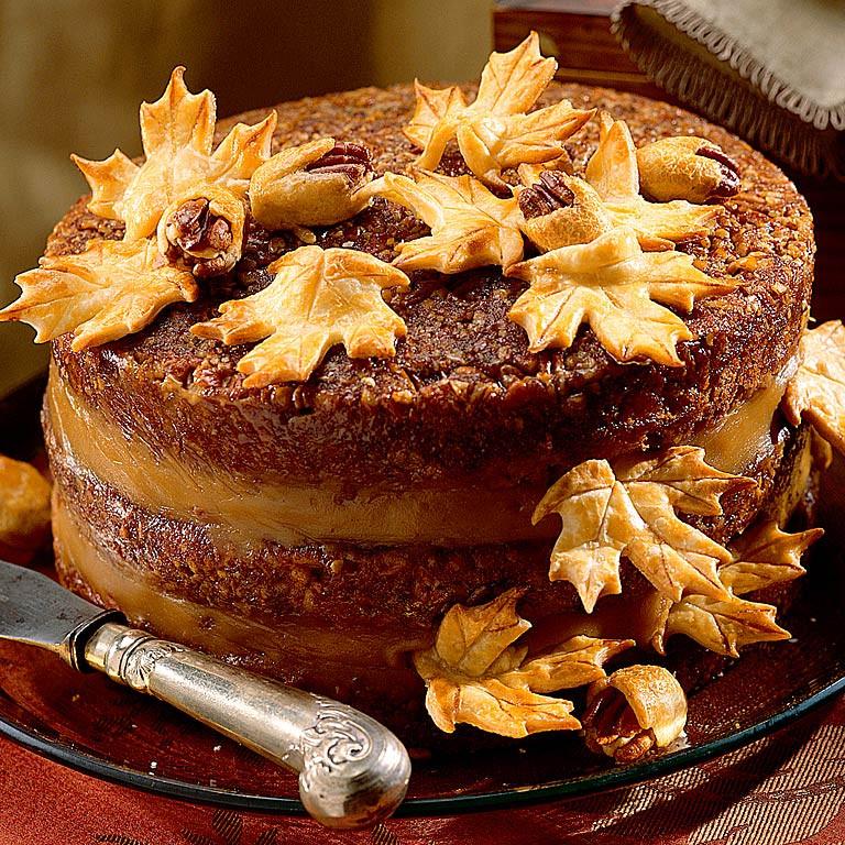 Pecan Pie Cake  Pecan Pie Cake Recipe