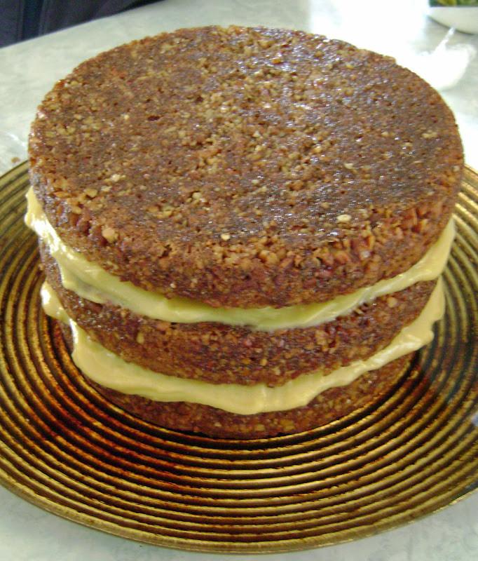 Pecan Pie Cake  Jo and Sue Pecan Pie Cake
