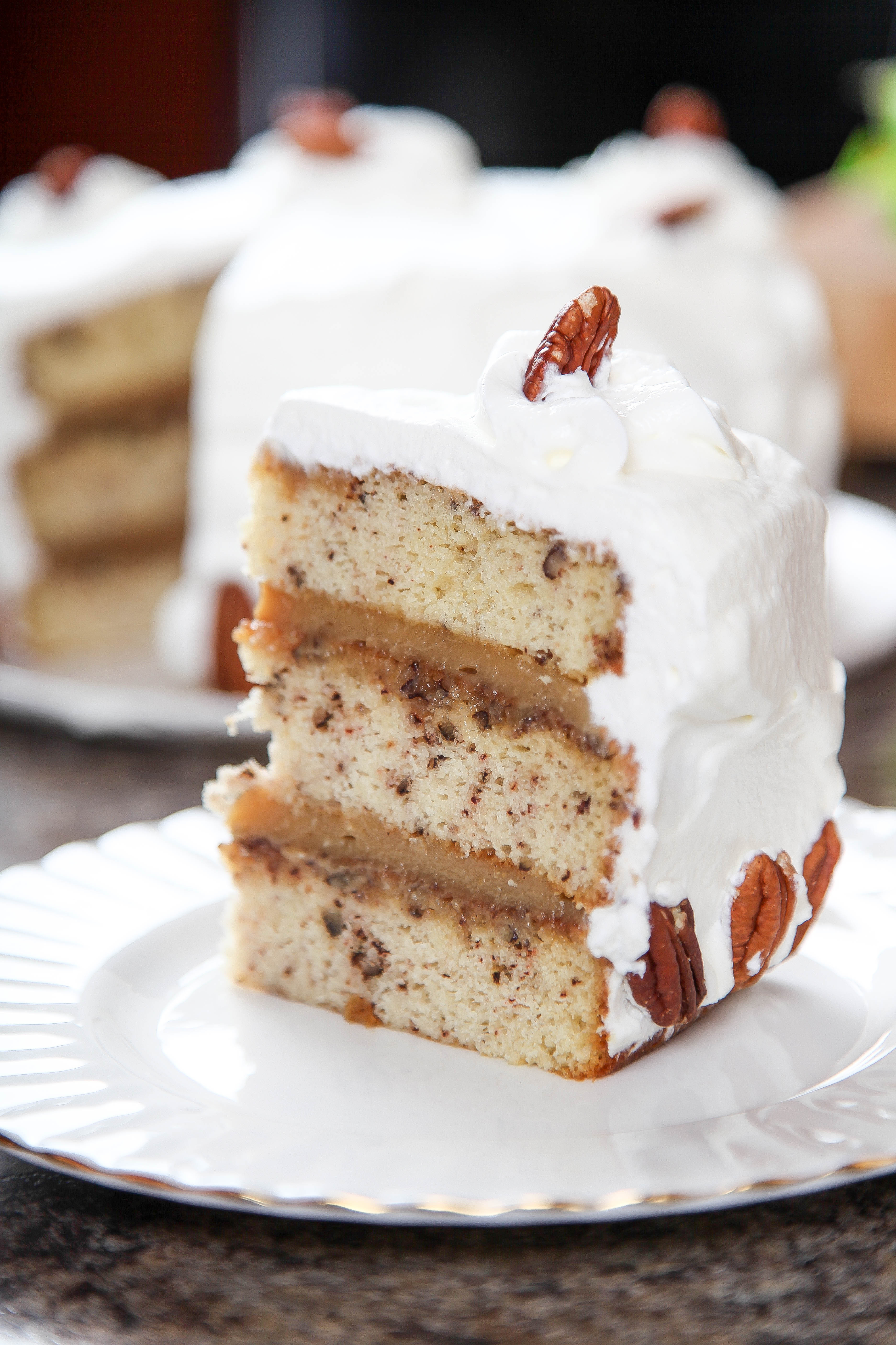 Pecan Pie Cake  Pecan Pie Cake