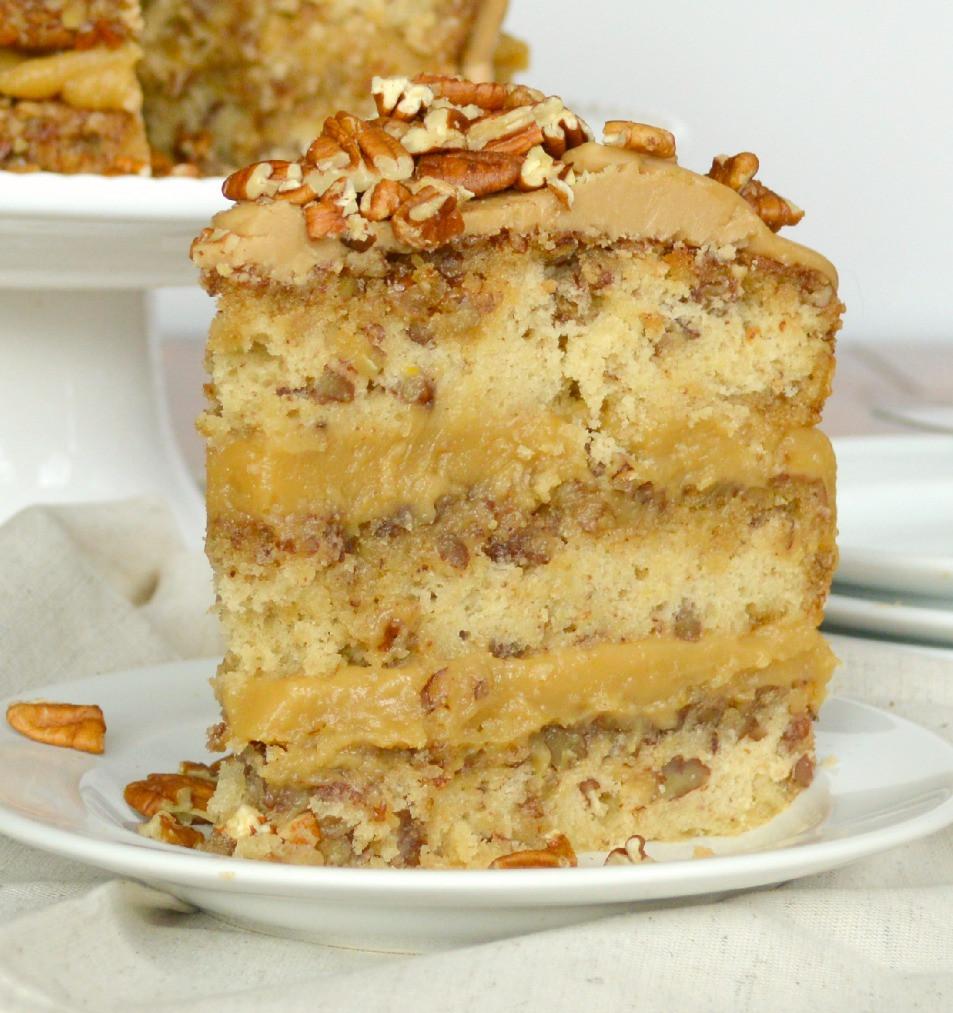 Pecan Pie Cake  Pecan Pie Cake Gonna Want Seconds