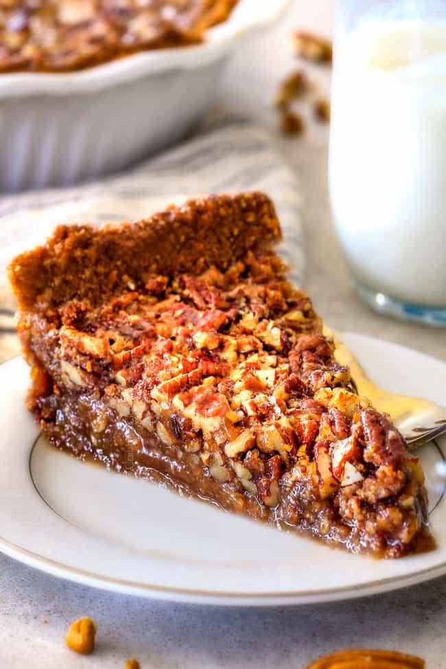 Pecan Pie Filling  Best Pecan Pie with Pecan Graham Cracker Crust Carlsbad