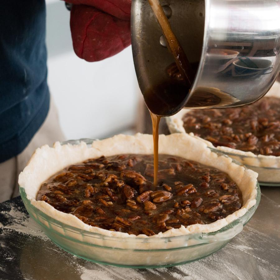 Pecan Pie Filling  Pecan pie and garden planning