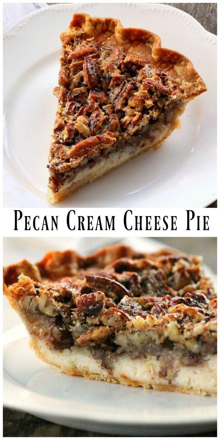 Pecan Pie Filling  Pecan Cream Cheese Pie Recipe
