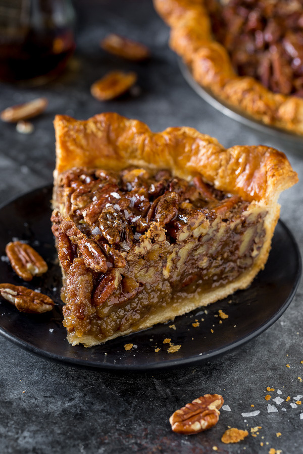 Pecan Pie No Corn Syrup  No Corn Syrup Pecan Pie made with real maple syrup
