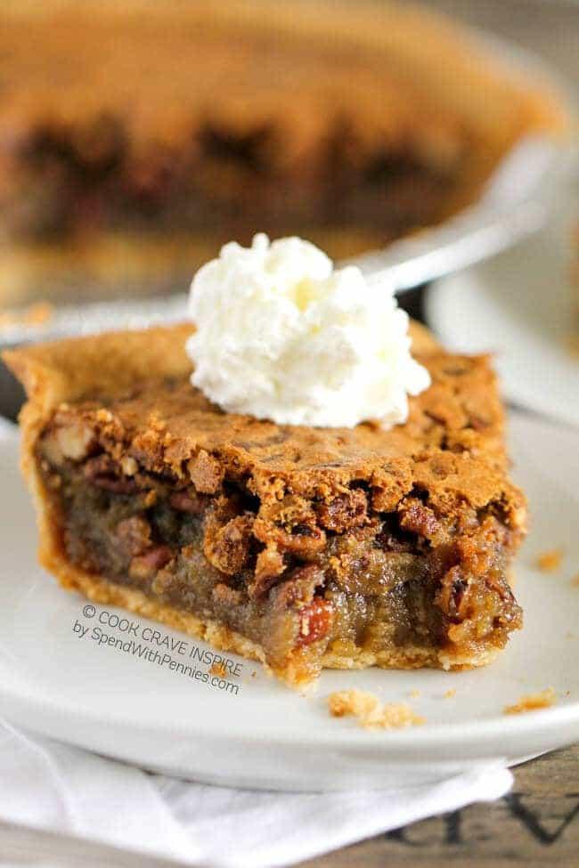 Pecan Pie No Corn Syrup  Pecan Pie Cookies Spend With Pennies