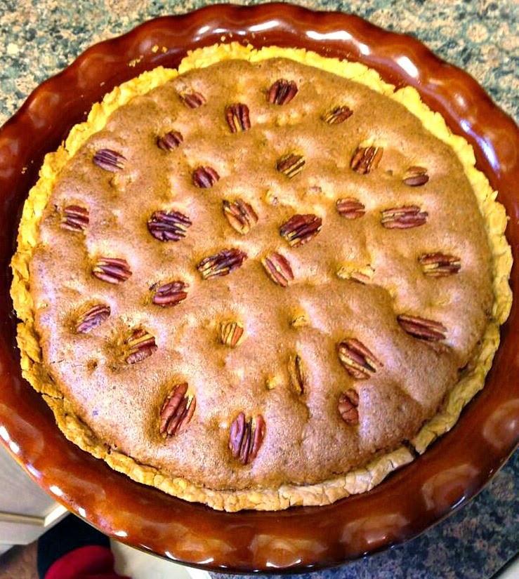 Pecan Pie No Corn Syrup  Sandra s Alaska Recipes SANDRA S NO CORN SYRUP PECAN PIE