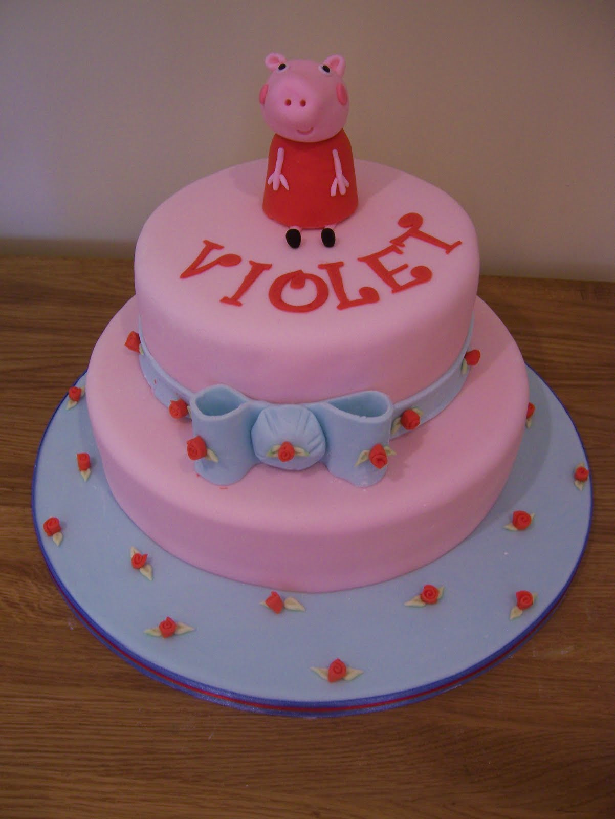 Peppa Pig Birthday Cake  peppa pig cake topper tutorial Archives Casa Costello