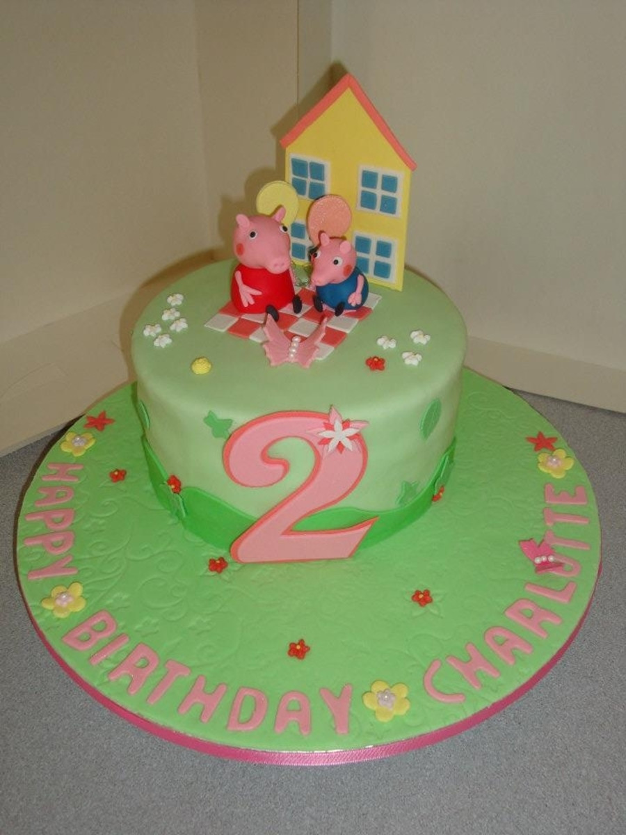 Peppa Pig Birthday Cake  Peppa Pig Birthday Cake CakeCentral