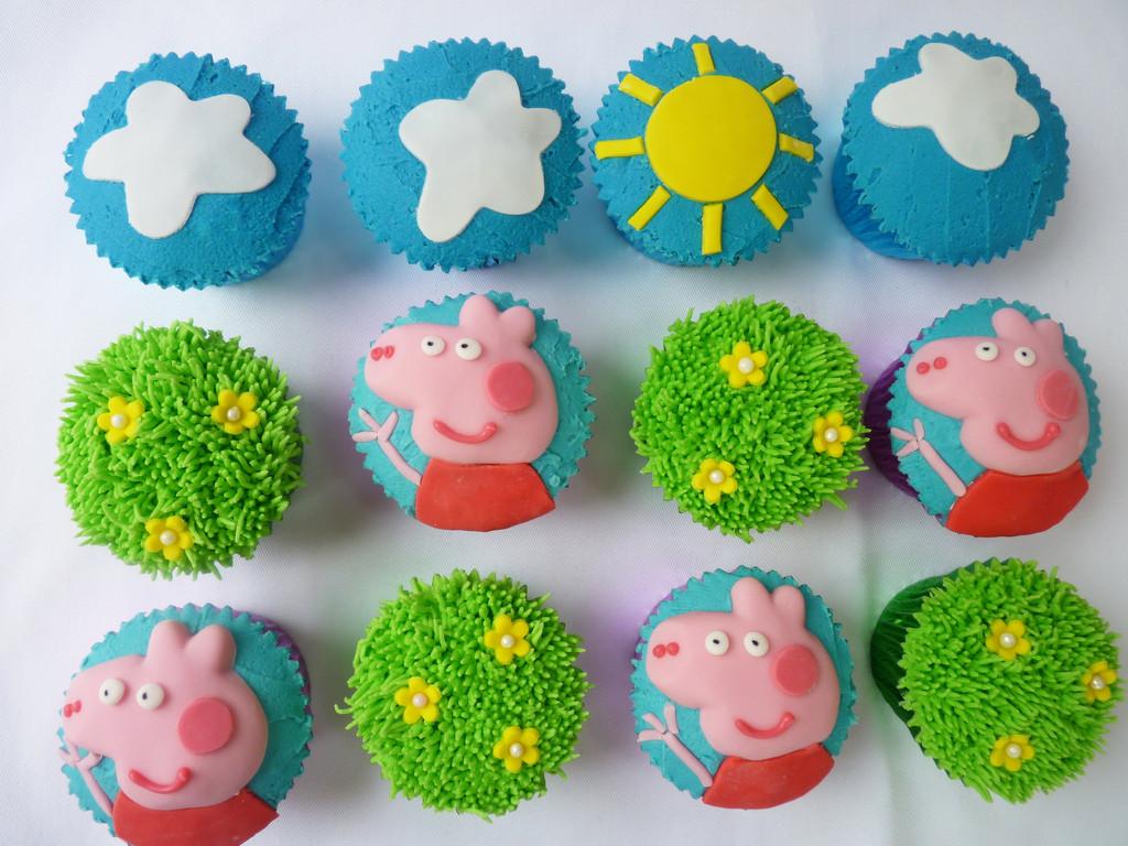Peppa Pig Cupcakes  Peppa pig cupcakes The Cupcake Fairy